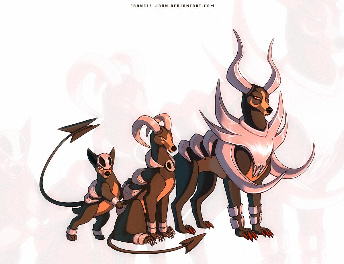 Pokemon houndoom evolution