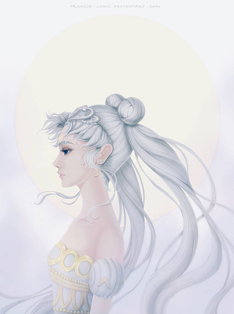 Queen Serenity by francis-john