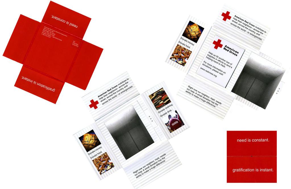 Red Cross Mailer