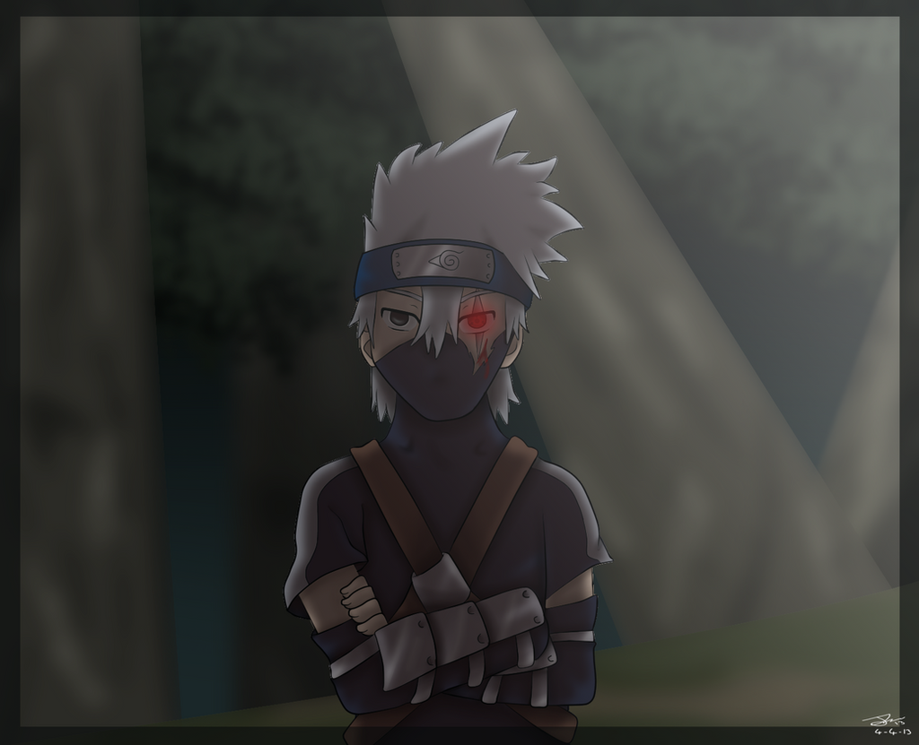 Young Kakashi By Dralion97 On DeviantArt