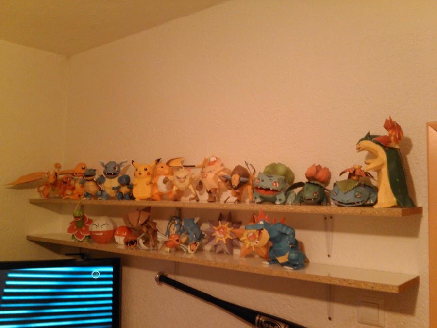 Pokemon PaperCrafts by Adisko
