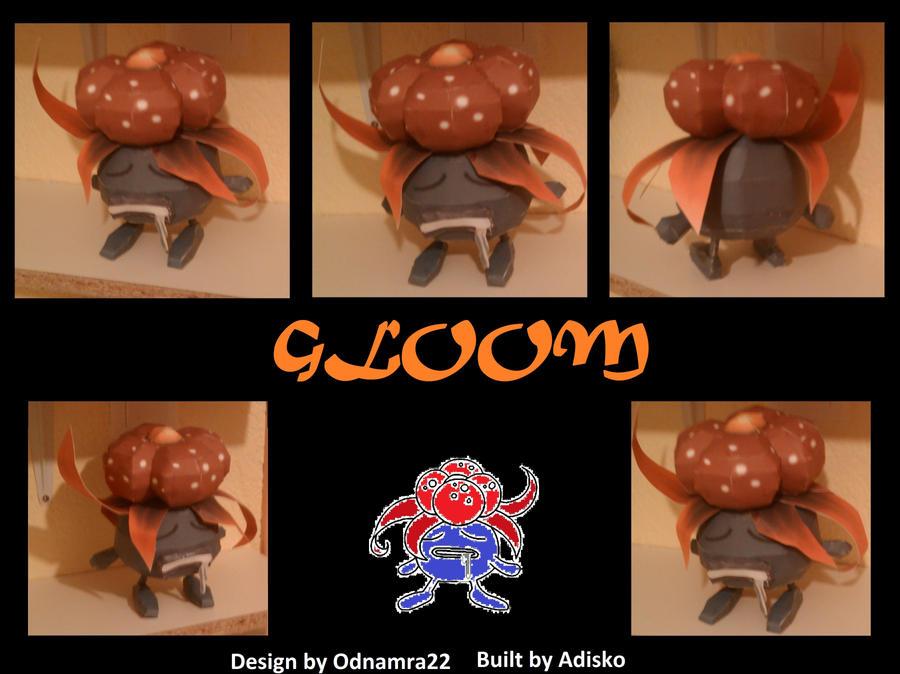Gloom Paper Pokemon Fixed by Adisko