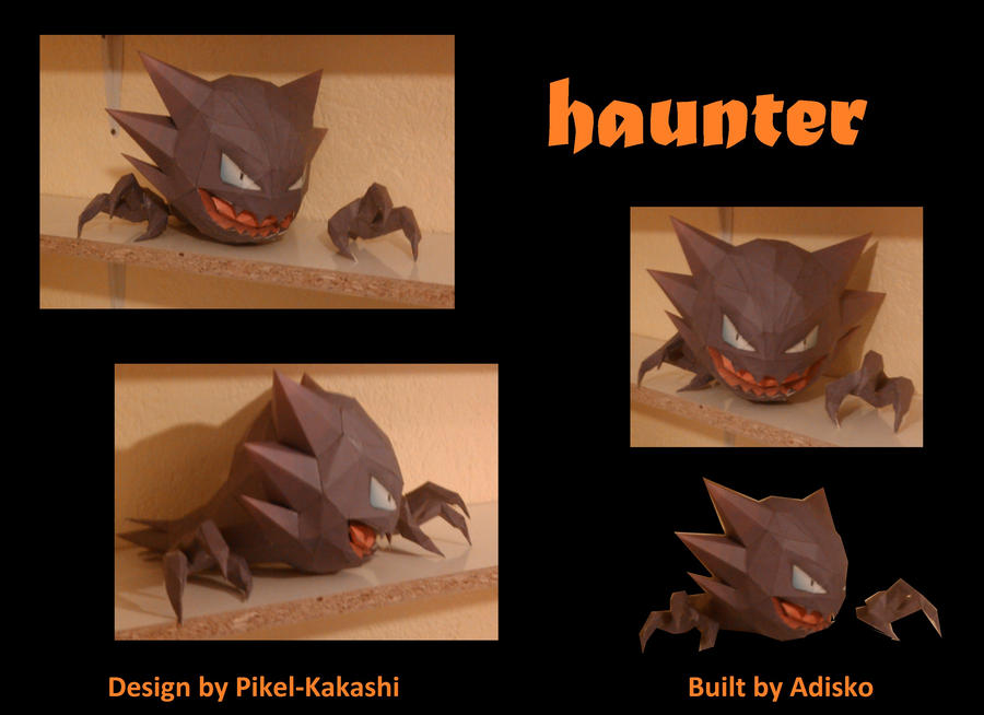 Haunter PaperPokemon by Adisko