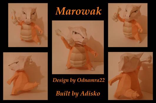 Marowak Paper Pokemon