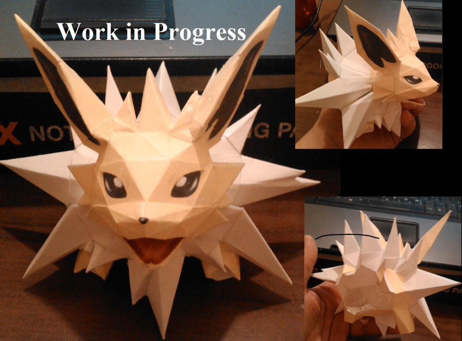Work in Progress- Jolteon by Adisko