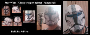 Star Wars Papercraft - Clone trooper helmet