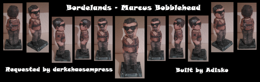 Bordelands - Marcus Bobblehead - Request by Adisko
