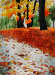 Fall in Watercolor