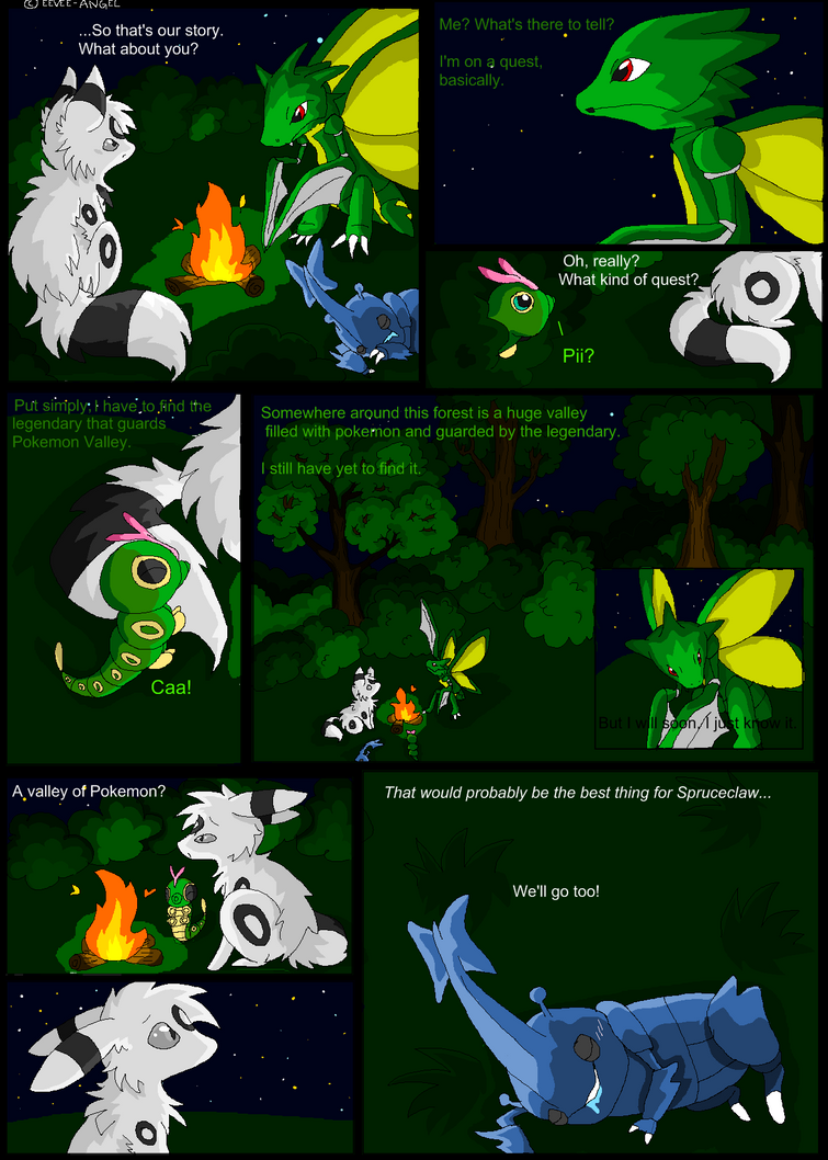 Shadowed Secrets Page 5 by insanityNothing