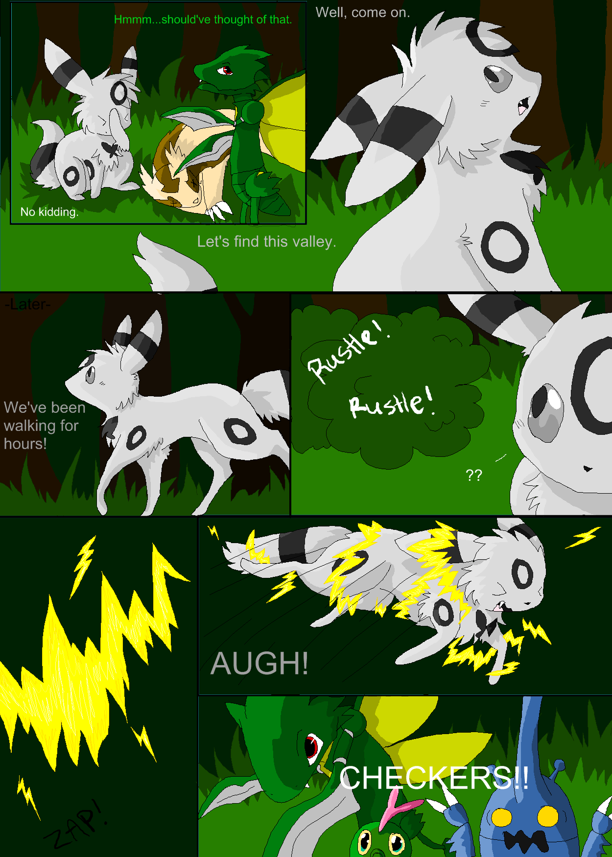Shadowed Secrets Page 7 by Nixhil