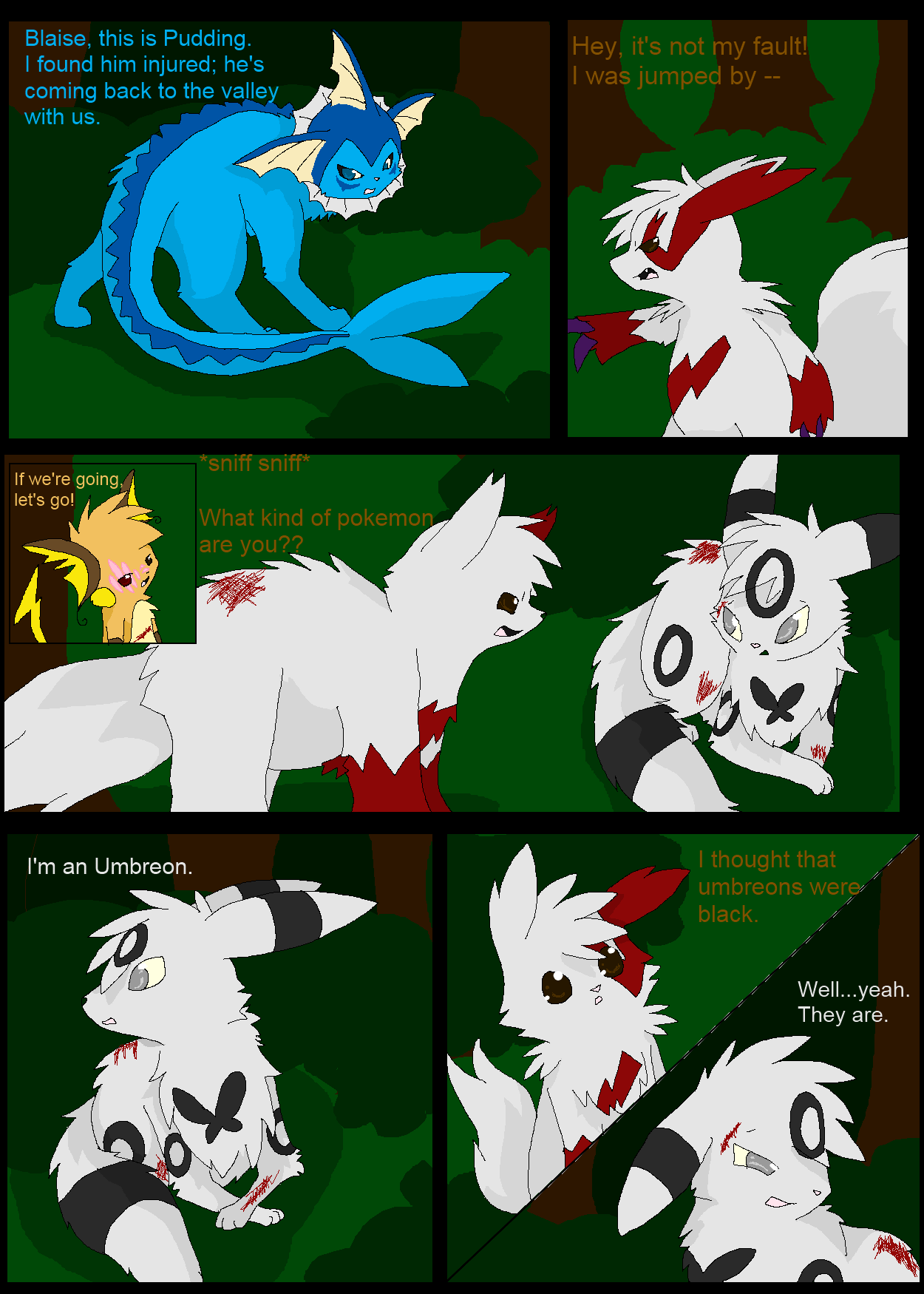 Shadowed Secrets Page 12 by insanityNothing