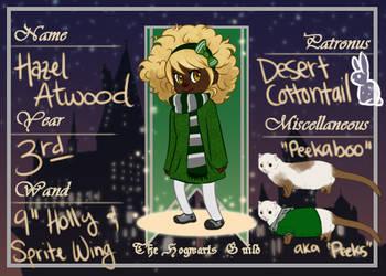 Hazel Atwood - Slytherin by Nixhil