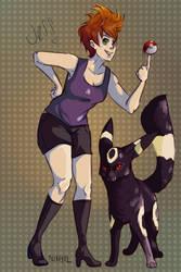 Pkmn Trainer Jess by Nixhil