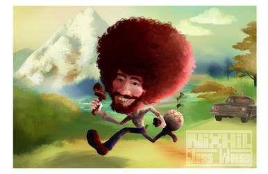 Bob Ross! by Nixhil