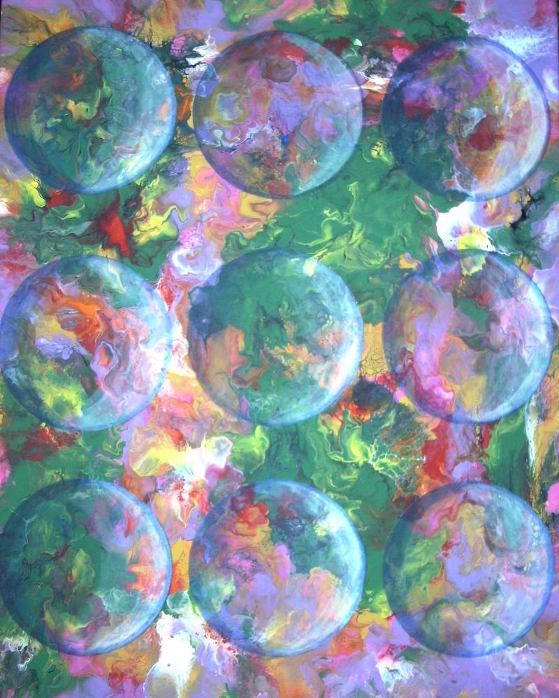 transparent circles by anuvys
