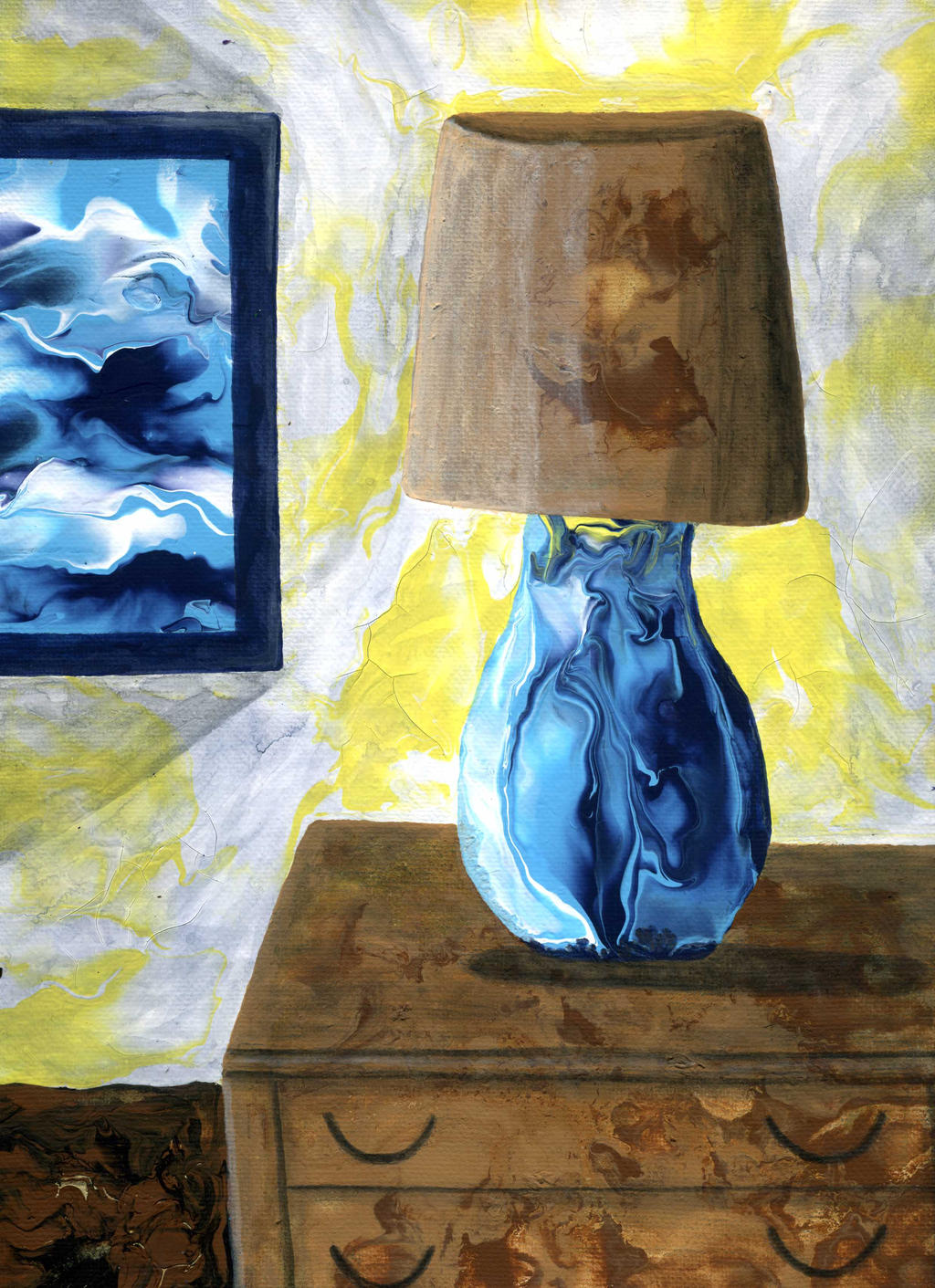 room with lamp by anuvys