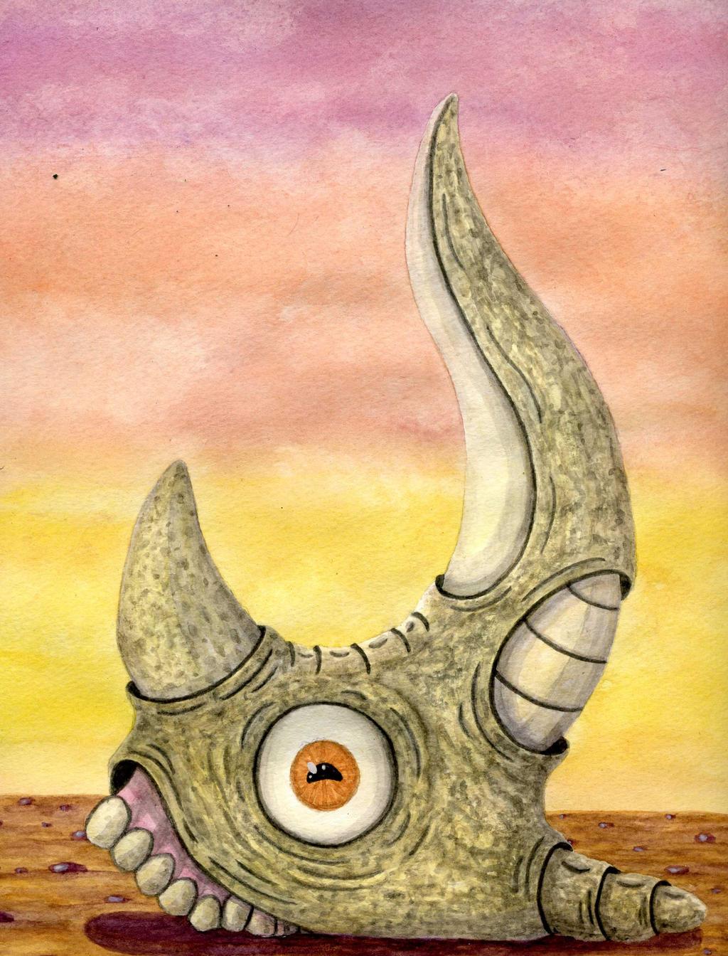 rhinosceroid by anuvys