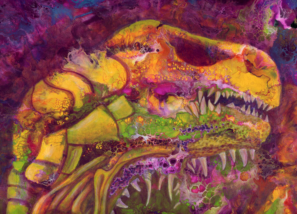 necrosaur by anuvys