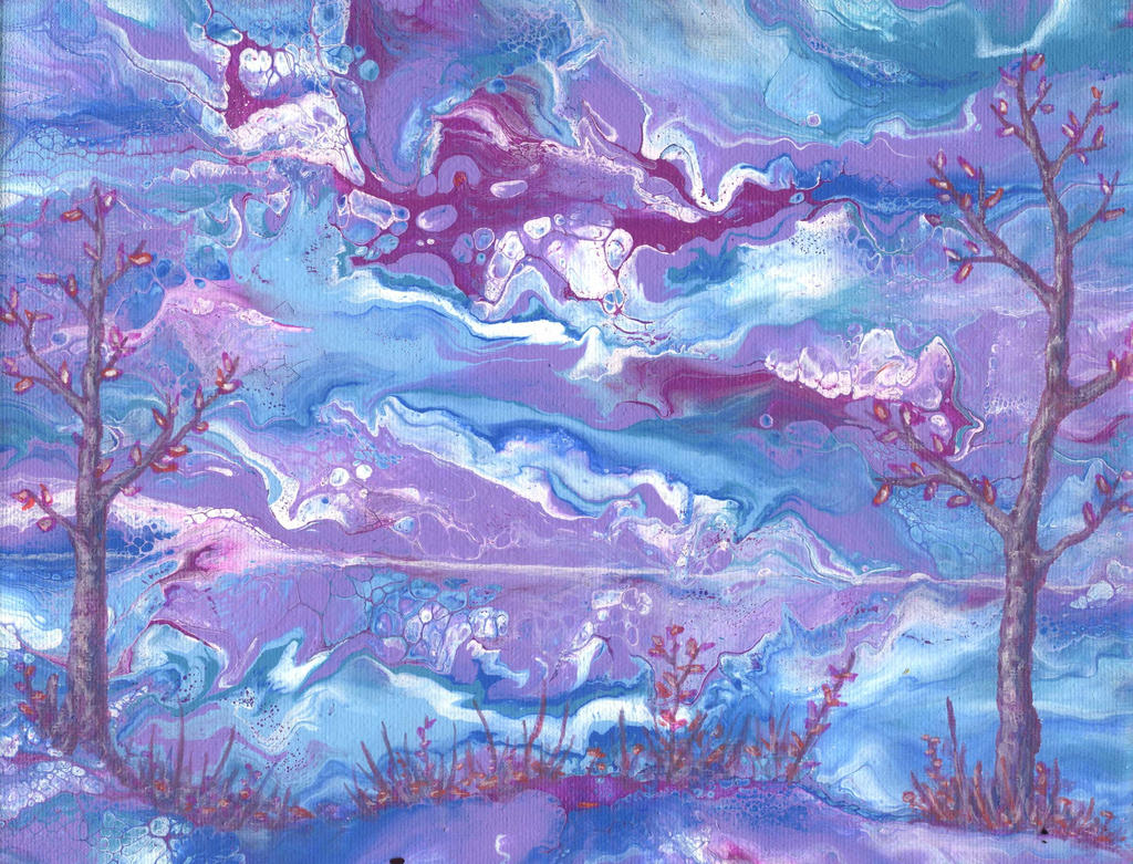 lavender visions by anuvys