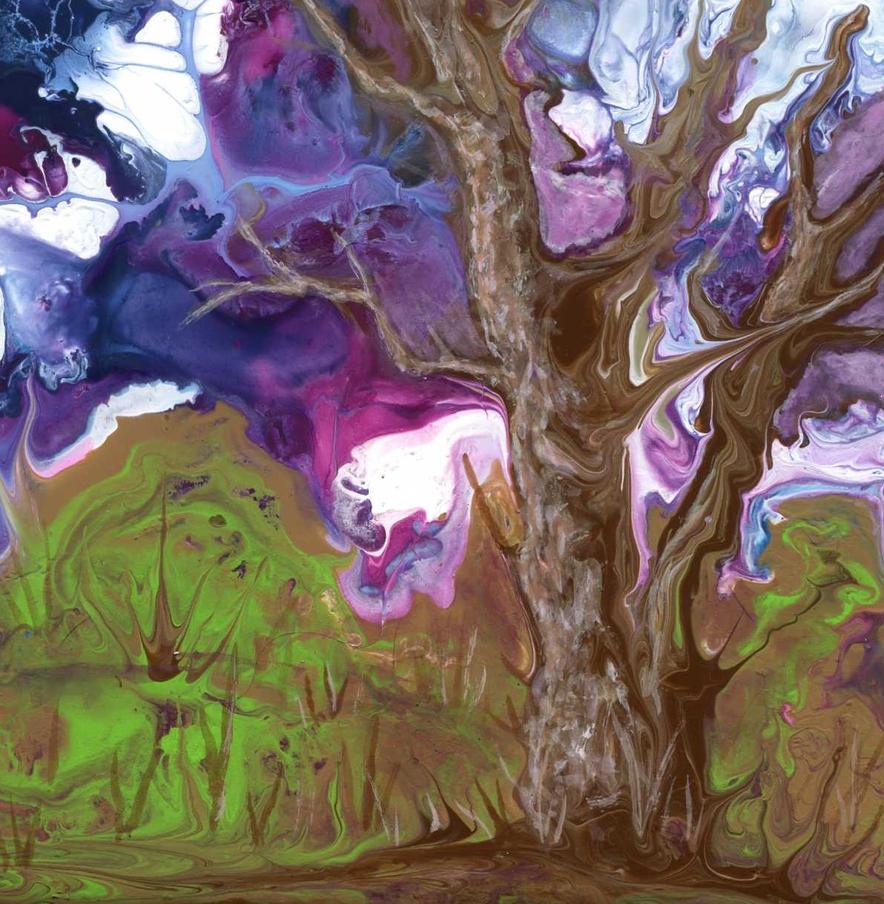 oak tree by anuvys
