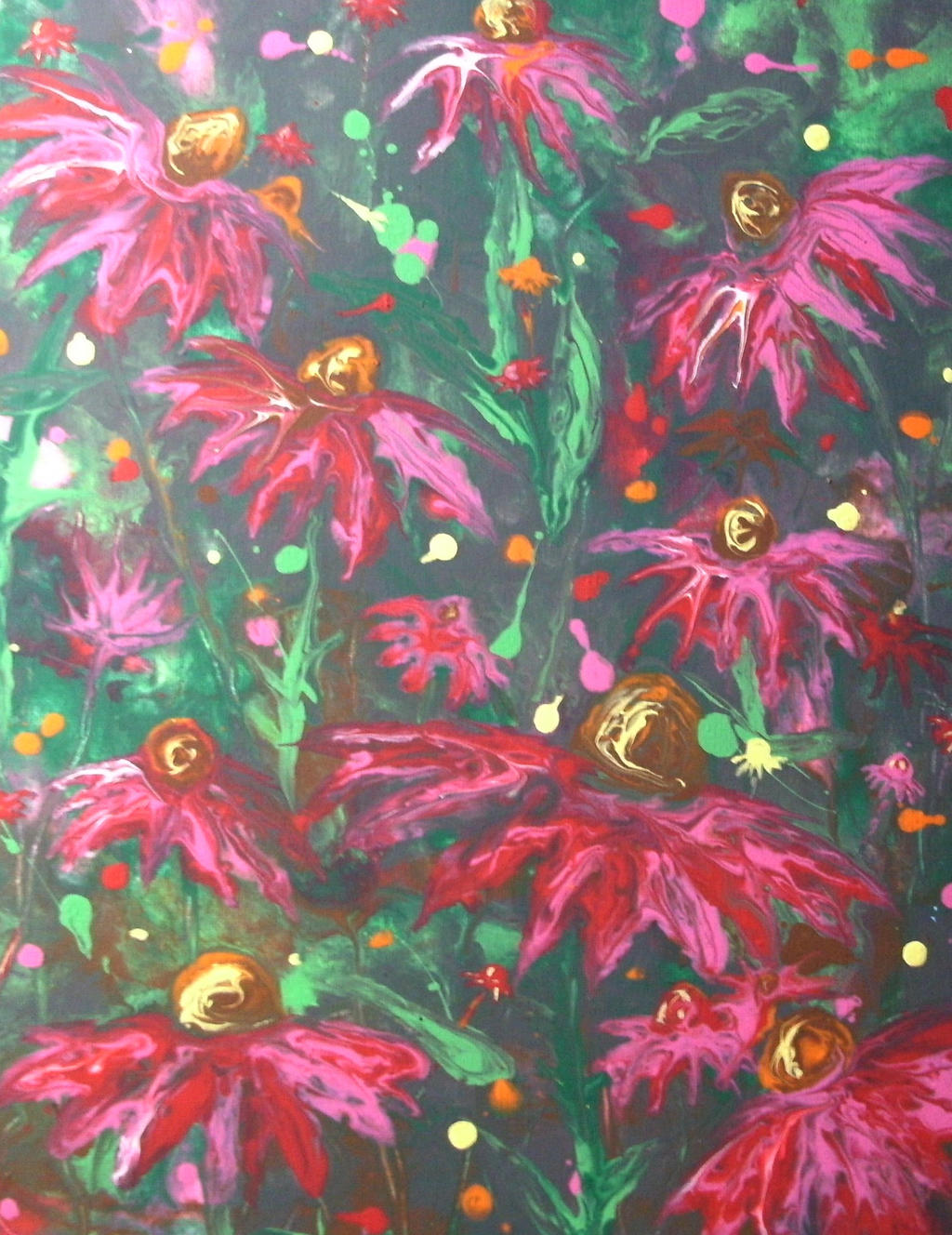 coneflowers by anuvys