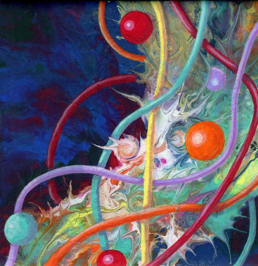 marbles and thread by anuvys