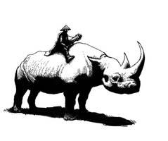 RhinoJockey by MaComiX