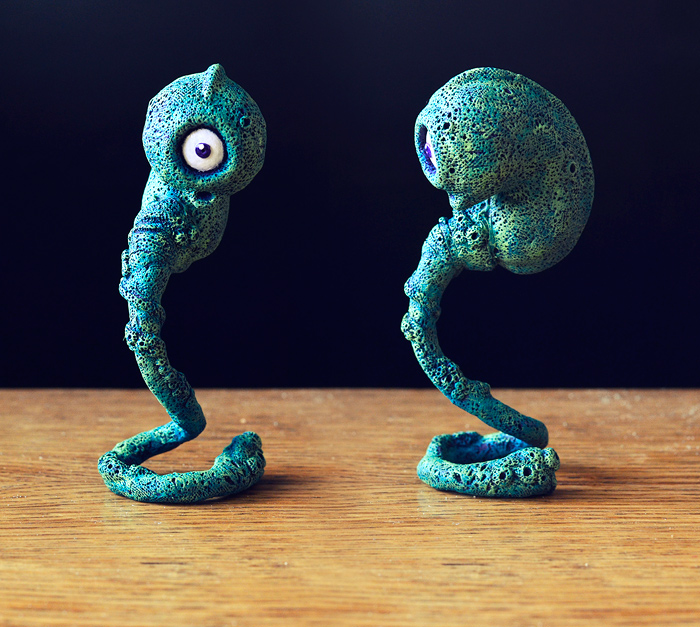 Embryo 3D - 2 by MaComiX