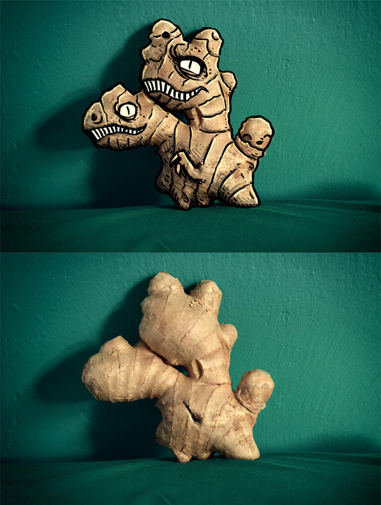 Gingersaur by MaComiX