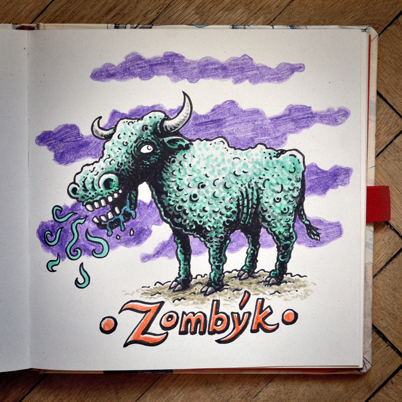 Zombyk by MaComiX