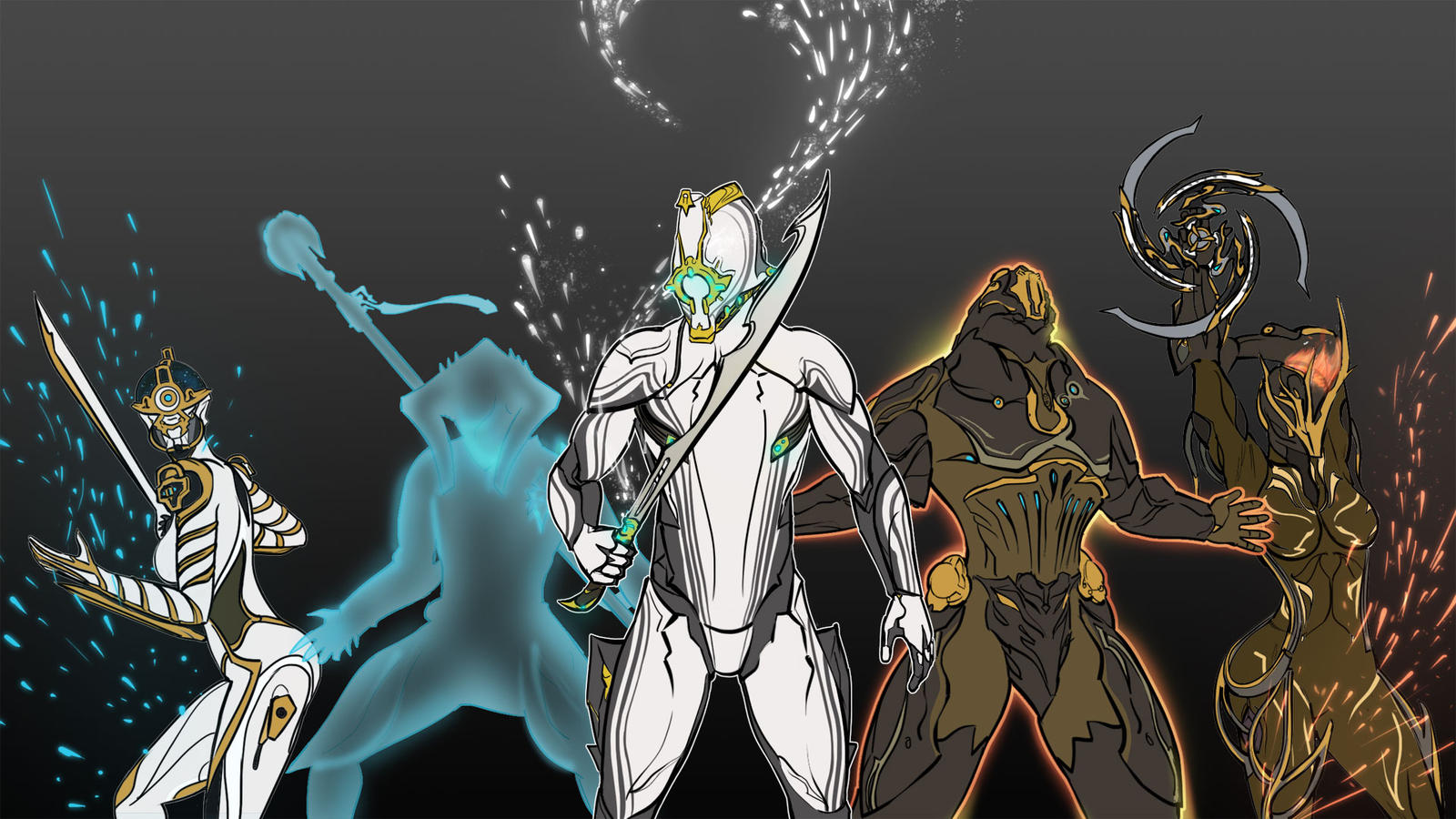 Warframe Prime Poster By MatinyComics