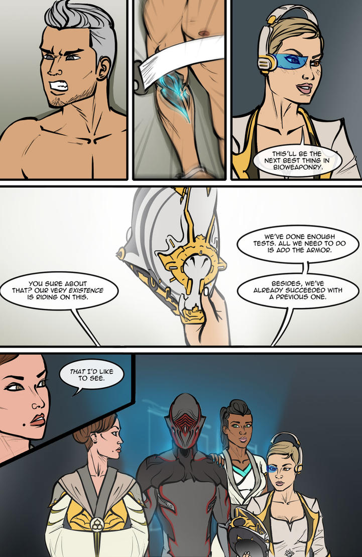 Warframe # 1 | Page 7 by MatinyComics