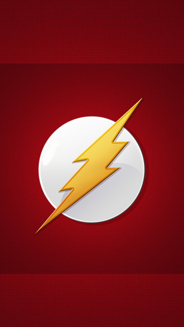 IPhone 5 Flash Lockscreen Wallpaper By Vinnymac