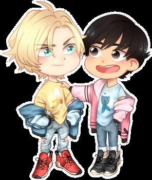 Ash And Eiji