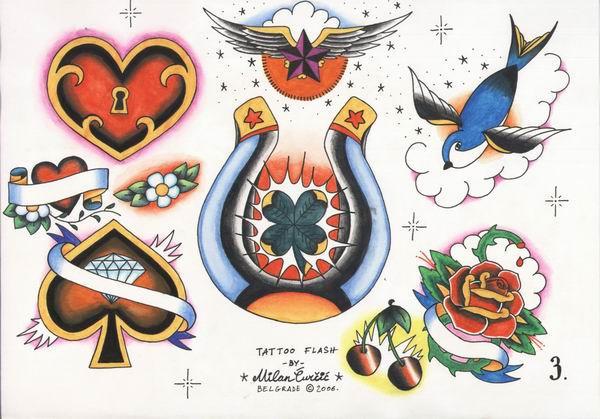 Tattoo Flash Set 1 Sheet 3 By Xxxcaomacoxxx On DeviantArt