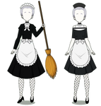 The Maids Costumes (w/codes)
