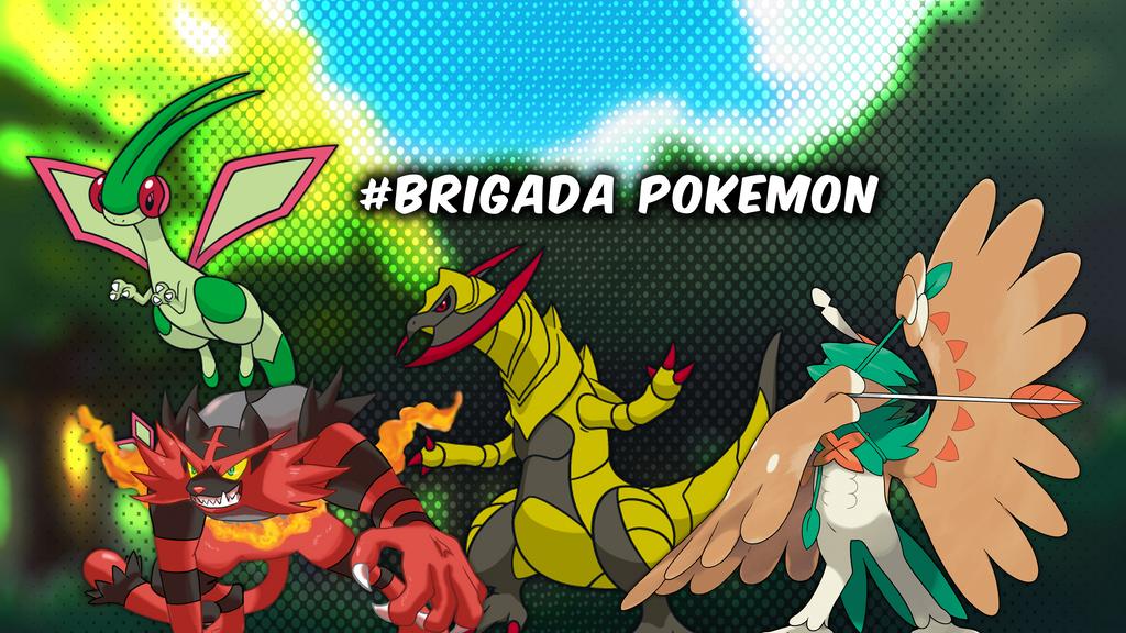 Brigada Pokemon by ROWLETDESIGNE