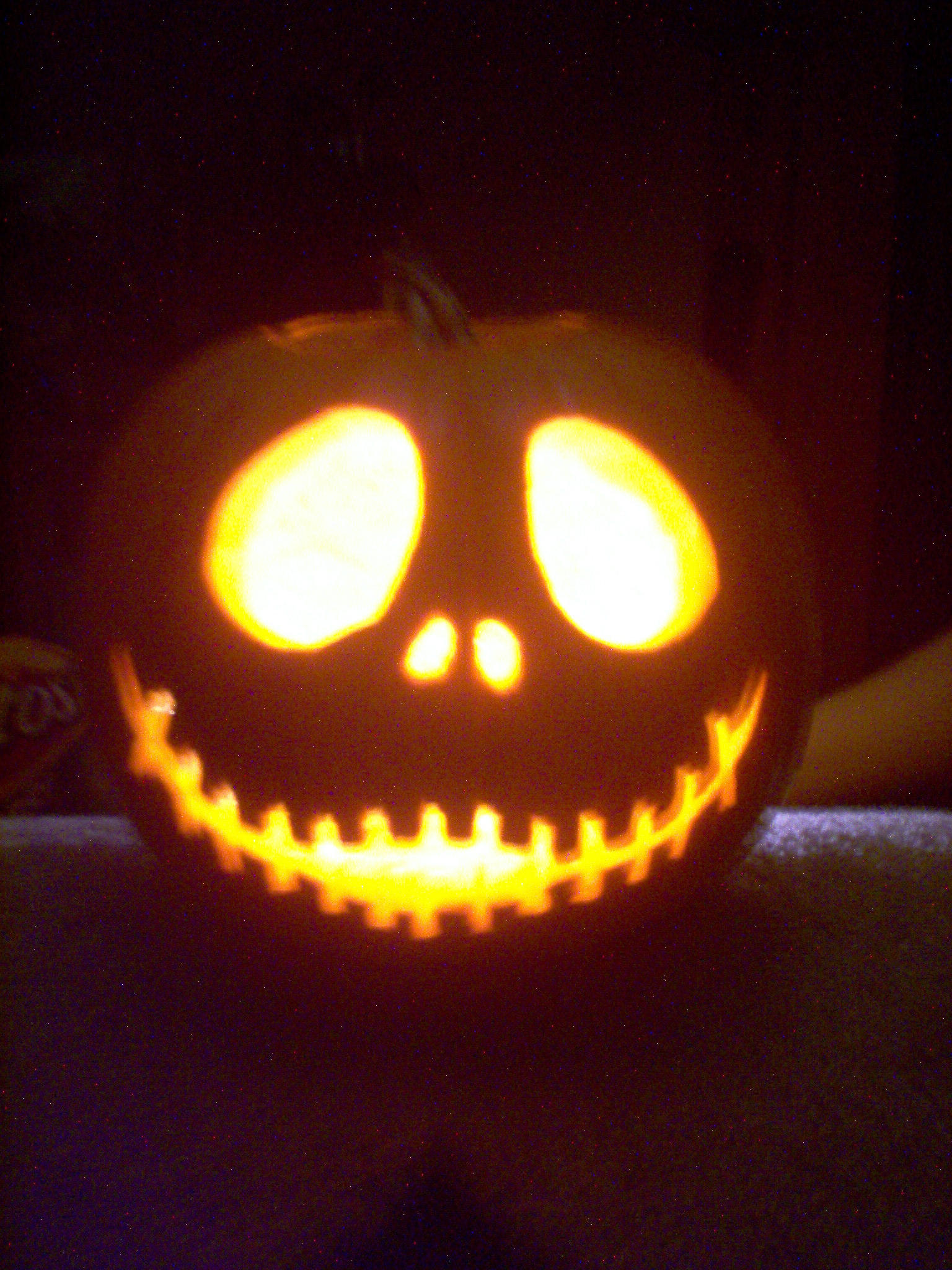 Jack skellington pumpkin by cinderspritzer on deviantart for Pumpkin carving patterns printable jack skellington