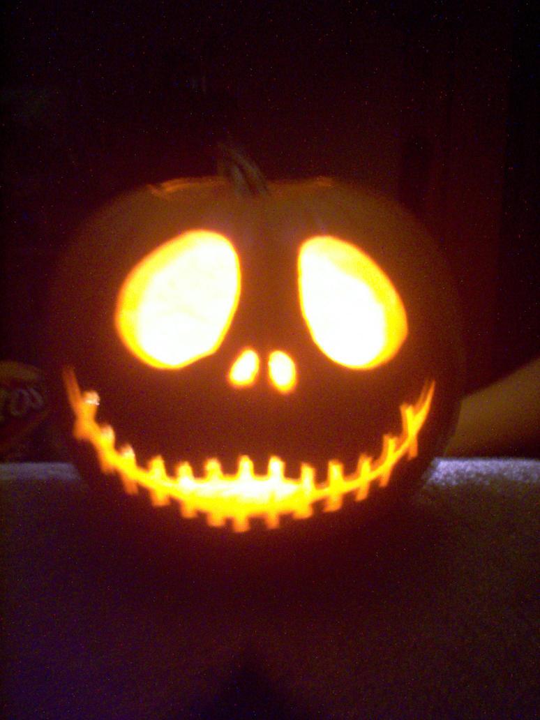 Jack Skellington Pumpkin Carving