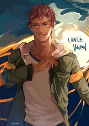 VOLTRON: Lance by toscafroggie
