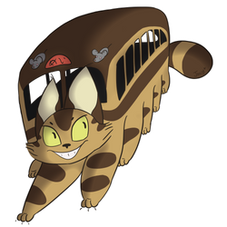 Catbus by WanderlustWings