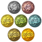 Skyrim Monopoly Coins
