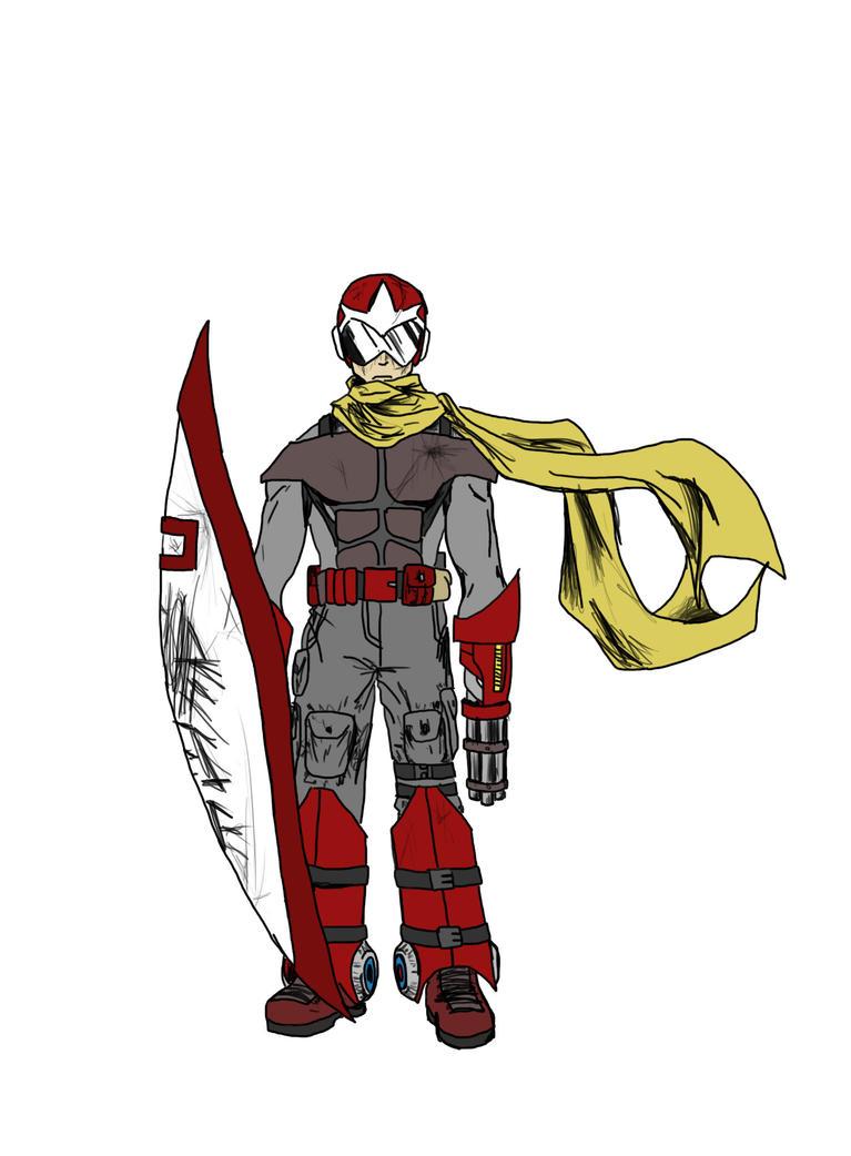 Protoman by Yomuri