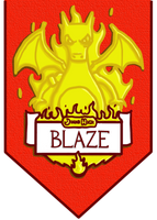 Jinko - Blaze House Banner by JimmyJamJemz