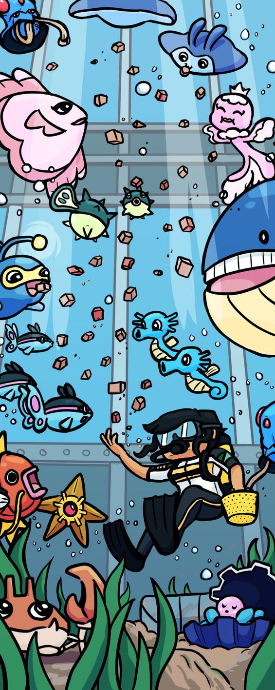 BFOI - Task 011 - All the Fishies by JimmyJamJemz