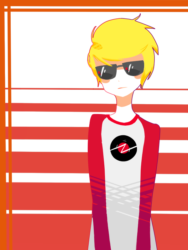 [Dave Strider] by Butterscotch-Ribbion