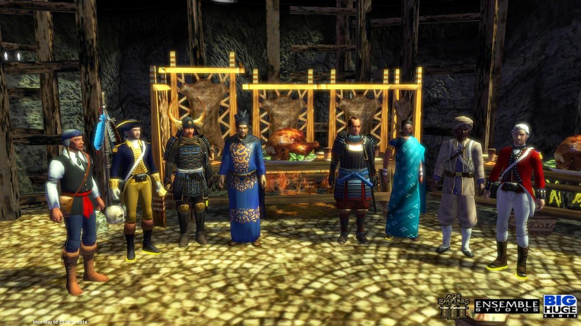 Rare Empires 3 asian cheats