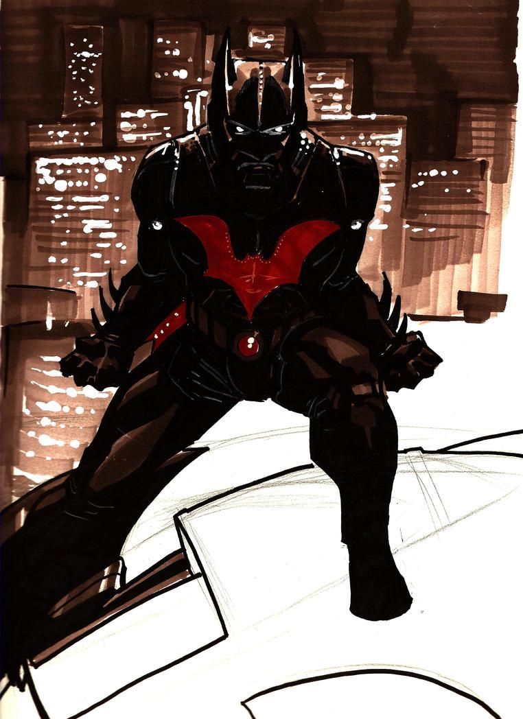 Batman Beyond WIP by Sigint