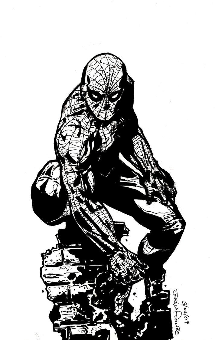 spiderman from sketch by Sigint