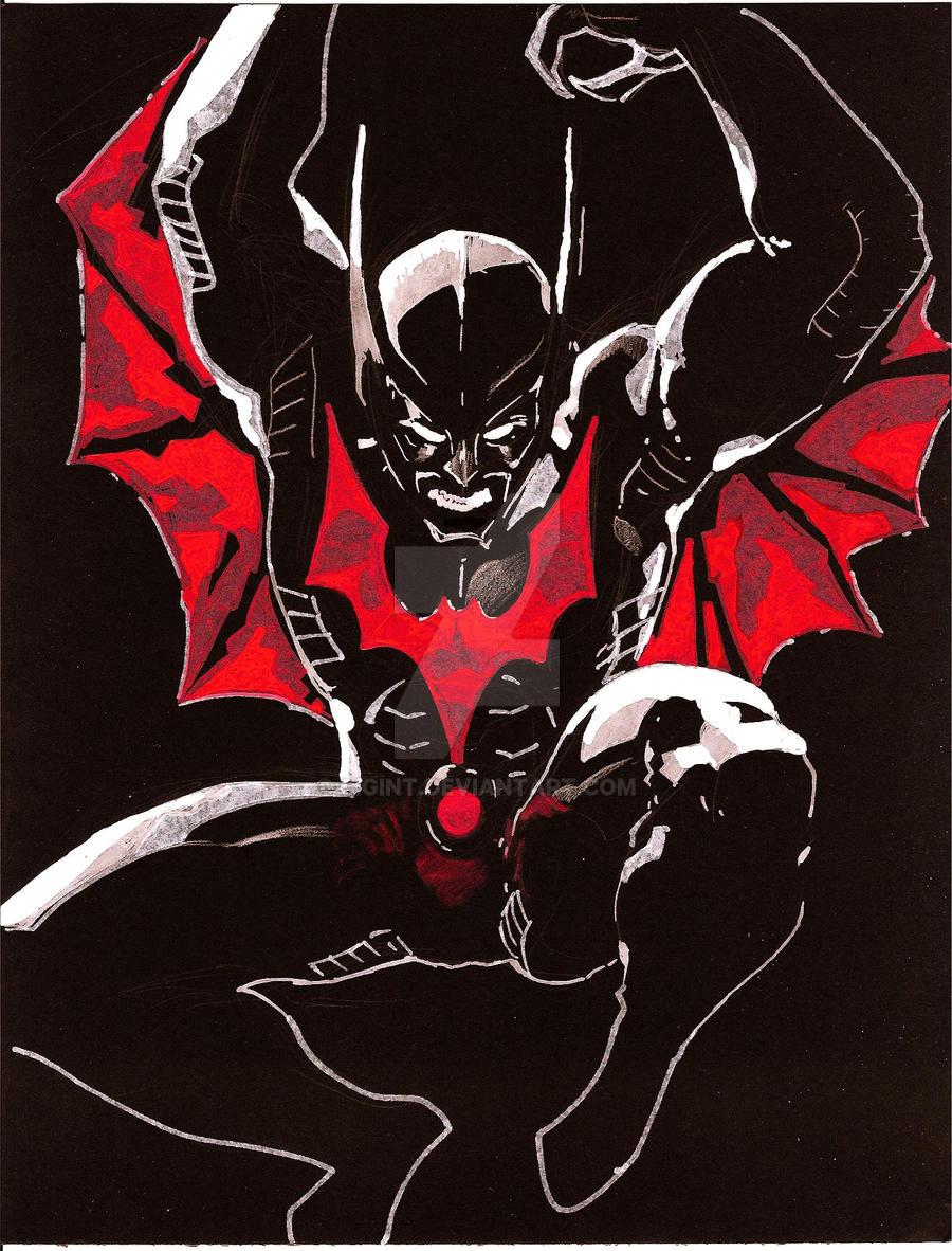batman beyond rbw wip by sigint on deviantart